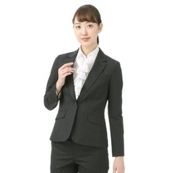 【洋服の青山:スーツ・ネクタイ】【セットアップ対応】【ウォッシャブル】【2WAYストレッチ】1ボタンロングジャケット