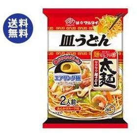 【送料無料】マルタイ 太麺皿うどん 151g×12個入