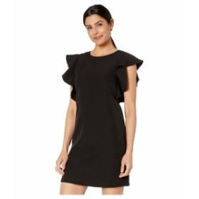 ランドリーバイシェリーシーガル レディース ワンピース トップス Ruffle Sleeve Dress Black