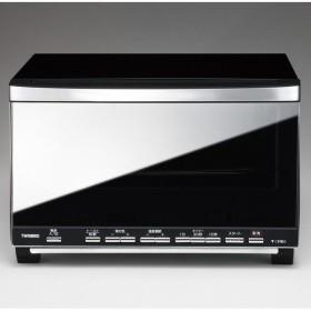 ツインバード ミラーガラスオーブントースター ブラック TWINBIRD TS-D058B 返品種別A
