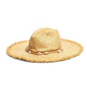 メイドウェル レディース 帽子 アクセサリー Madewell x Biltmore Shell Trim Woven Straw Hat Light Straw