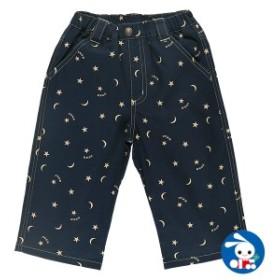 星・月総柄7分丈パンツ【110cm・120cm・130cm】[男の子][西松屋]