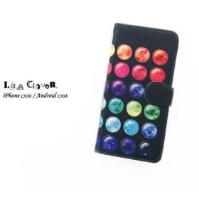 4a66520c1f GALAXY Palette 手帳型 iPhoneケース スマホケース 全機種対応 宇宙 星 パレット 化粧