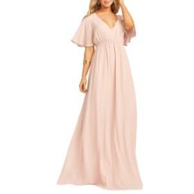 ウミーユアムーム レディース ワンピース トップス Show Me Your Mumu Emily Maxi Dress Dusty Blush