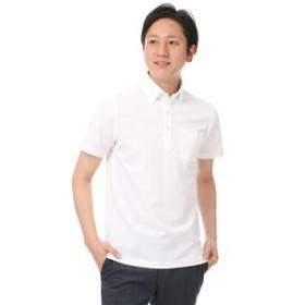 【洋服の青山:トップス】ボタンダウンポロシャツ