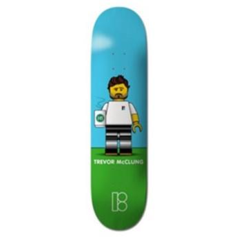 PLAN B BLOCKHEAD TREVOR McCRUNG サイズ:8.125×31.75インチ 【スケートボードデッキ】 【プランビー】【スケボー】【SKATEBOARD】