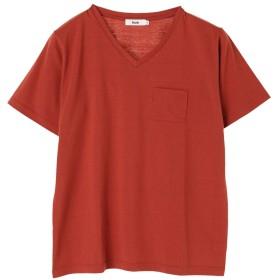【オンワード】 koe(コエ) VネックTシャツ Orange M レディース 【送料無料】