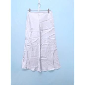 MOUSSY(マウジー)サテンスカート シルバー レディース 新品 1