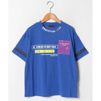 (Lovetoxic/ラブトキシック)クリアポケットビックTシャツ/レディース ブルー