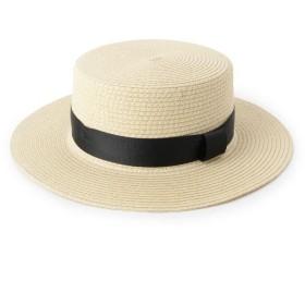 SHOO・LA・RUE/DRESKIP(シューラルー/ドレスキップ) ペーパー混カンカン帽
