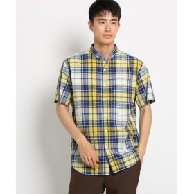 THE SHOP TK(Men)(ザ ショップ ティーケー(メンズ)) シアサッカーチェックシャツ