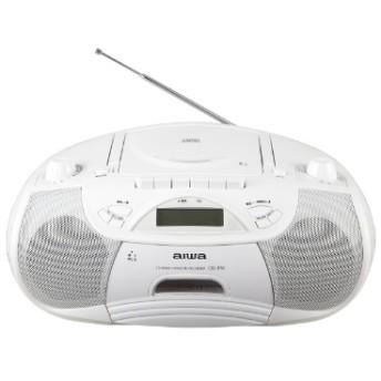 Bluetooth CDラジカセットレコーダー CSD-B50W ホワイト