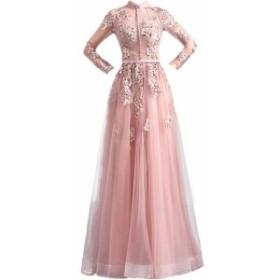 ドレス ブライズメイド服 花嫁 ウェディングドレス 花嫁の介添えドレス ロングドレス プリンセスドレス 演奏会用ロングドレス 結婚式 二