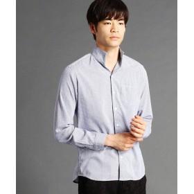 ハイダウェイニコル ライトドビーイタリアンカラーシャツ メンズ 60ブルー 48(L) 【HIDEAWAYS NICOLE】