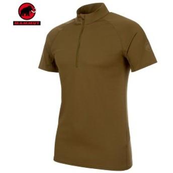 MAMMUT(マムート) Performance Dry Zip T-Shirt Men パフォーマンスドライジップ Tシャツ カラー:4072 (MAMMUT_2019SS)