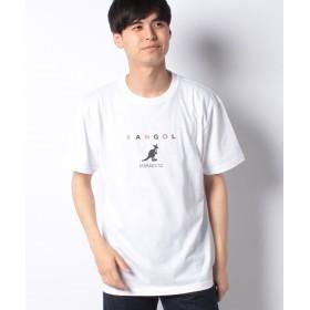 スペンディーズストア KANGOL(カンゴール)胸ロゴTシャツ メンズ ホワイト LL 【SPENDY'S Store】