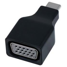 USB Type-C出力専用 1920×1080/60Hz (1080p) 対応 C オス⇔VGA メス ブラック ADV-CVG