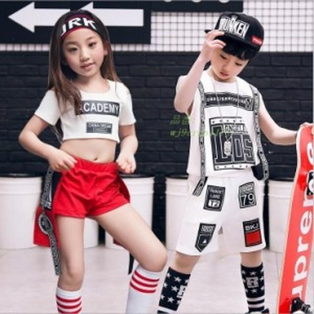 5d76ae93c3d70 キッズ服 子供服 ダンス 衣装 ダンス キッズ ダンス ファッション キッズダンス 子供 HIPHOP セットアップ トップス