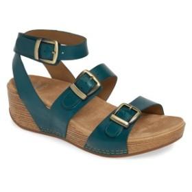 ダンスコ レディース サンダル シューズ Dansko Lou Ankle Strap Sandal (Women) Turquoise Leather