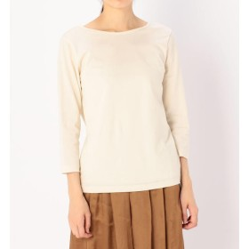 【ビショップ/Bshop】 【handvaerk】V-Back 7分袖Tシャツ WOMEN
