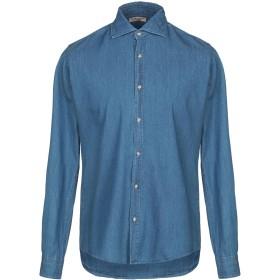 《セール開催中》GUESS BY MARCIANO メンズ デニムシャツ ブルー S コットン 100%