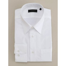 <ダーバン/DURBAN> ブロード無地 レギュラーカラー ドレスシャツ(1609221101) ホワイト 【三越・伊勢丹/公式】
