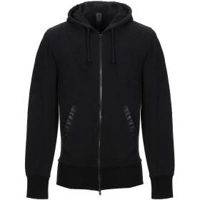 《9/20まで! 限定セール開催中》WLG by GIORGIO BRATO メンズ スウェットシャツ ブラック S コットン 100%