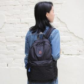Mildred Backpack(A4 OK)- Black ★416-00