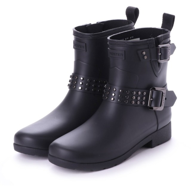 ハンター HUNTER REFINED STUD BIKER (BLK)