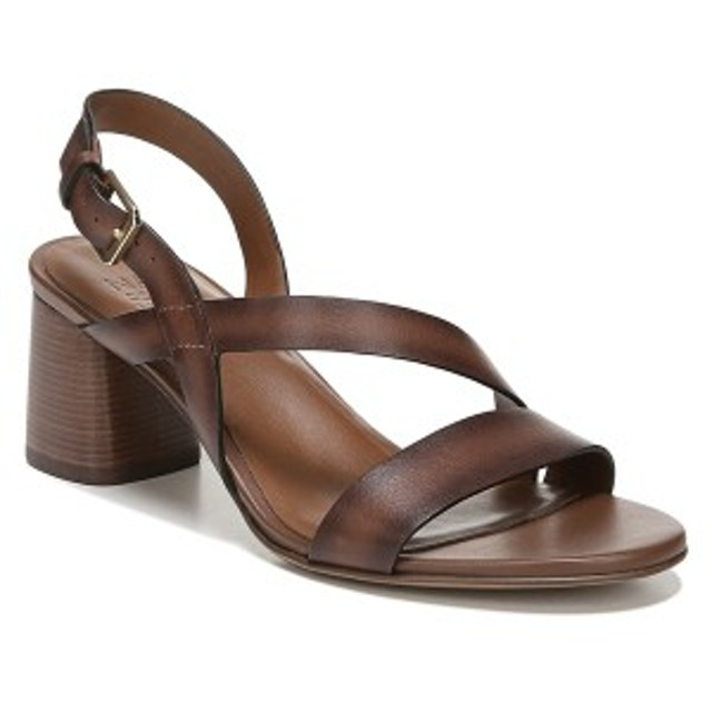 ナチュライザー レディース サンダル シューズ Naturalizer Arianna Block Heel Sandal (Women) Lodge Brown Leather