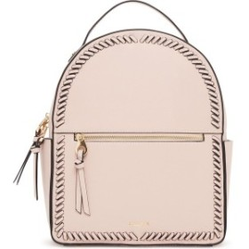 カルパック レディース バックパック・リュックサック バッグ CALPAK Kaya Faux Leather Round Backpack Blush Pink