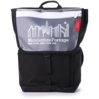 マンハッタンポーテージ Manhattan Portage Carey Washington SQ Backpack JR (Black/White)