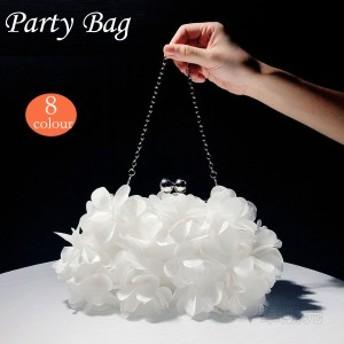 3way パーティーバッグ 結婚式 クラッチ 母の日 花びら パーティバッグ クラッチバッグ バッグ 二次会 プレゼント お呼ばれ レディース