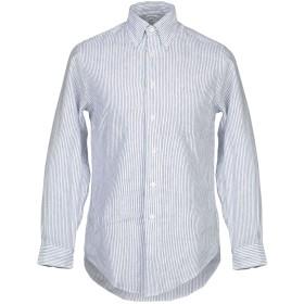 《期間限定セール開催中!》BROOKS BROTHERS メンズ シャツ ブルー XS 麻 100%