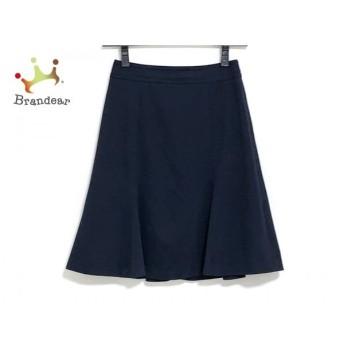 ニジュウサンク 23区 スカート サイズ30 XS レディース ダークネイビー 値下げ 20190916
