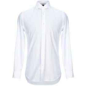 《セール開催中》GRIGIO メンズ シャツ ホワイト 39 コットン 100%