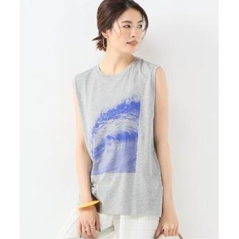 JOURNAL STANDARD L'ESSAGE 【6397/シックススリーナインセブン】LESSAGE WAVE N/S TEE:Tシャツ◆ グレーA M