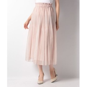 (allureville/アルアバイル)【Loulou Willoughby】シフォンジープリーツスカート/レディース ピンク