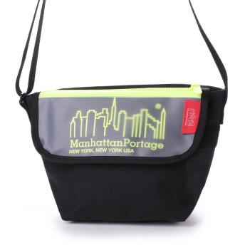 マンハッタンポーテージ Manhattan Portage Carey Casual Messenger Bag (Black/Yellow)