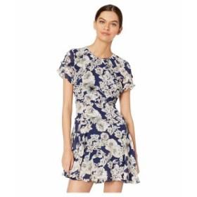 バードット レディース ワンピース トップス Brianna Dress Abstract Floral Print