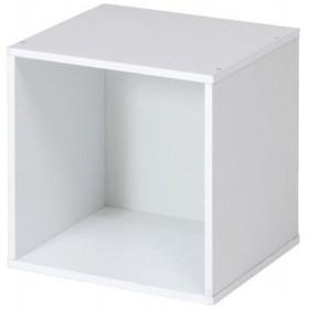 不二貿易 81901 「キューブボックス ホワイト CB35OP(WH) (ホワイト)」
