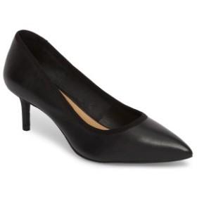 ニックプラスゾーイ レディース パンプス シューズ NIC + ZOE Cora Pointy Toe Pump (Women) Black Leather
