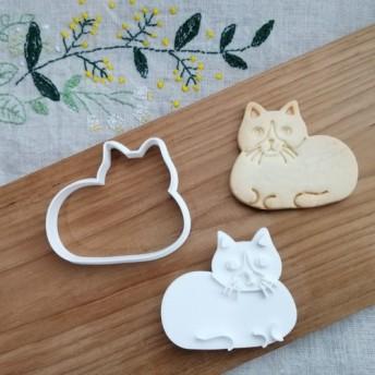 動物☆猫 クッキーカッター/クッキー型
