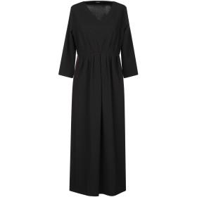 《期間限定 セール開催中》ALPHA STUDIO レディース 7分丈ワンピース・ドレス ブラック 40 ポリエステル 95% / ポリウレタン 5%