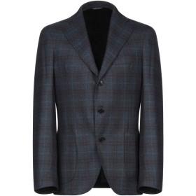 《セール開催中》GABO Napoli メンズ テーラードジャケット ダークブルー 46 ウール 100%