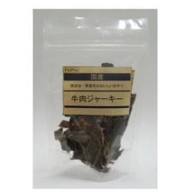 ペットプロ ペットプロ 国産おやつ 牛肉ジャーキー(無添加・無着) 65g  PPコクサンギユウニクジヤ-キ-65【返品種別B】