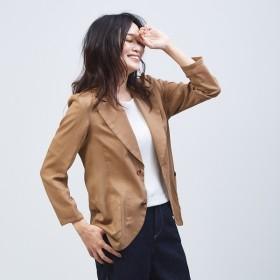 [マルイ] オーガンジーシャツジャケット/カリテ(qualite)