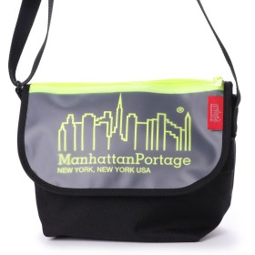 マンハッタンポーテージ Manhattan Portage Carey Casual Messenger Bag JR (Black/Yellow)