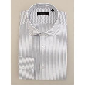 <ダーバン/DURBAN> ロンドンストライプ柄 長袖 ドレスシャツ(1608221309) グレー 【三越・伊勢丹/公式】