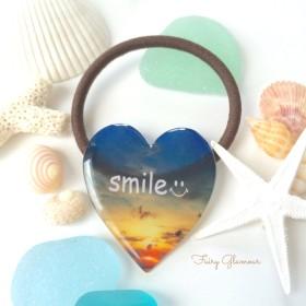 ALOHA〜big ヘアゴム〜smile